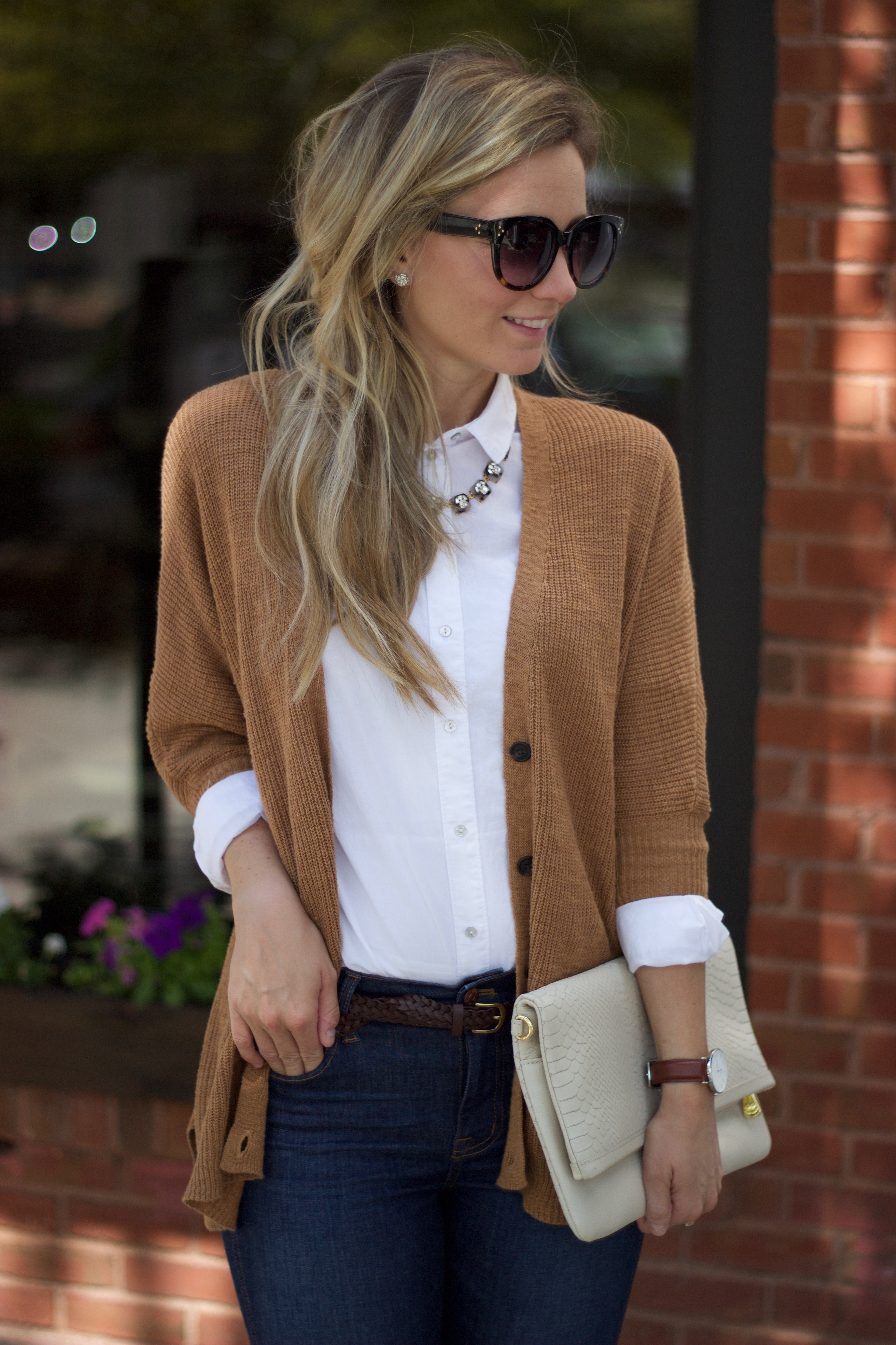 Dressing For Fall Part 3 The White Oxford Shirt City Peach